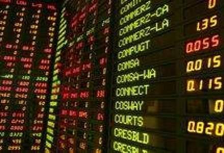 Bursele americane au deschis pe rosu