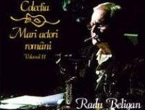 Radu Beligan pe CD, in...
