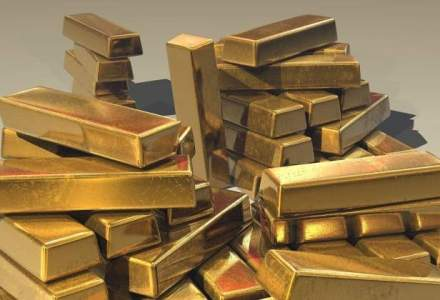 Pretul aurului a coborat la minimul ultimilor cinci ani