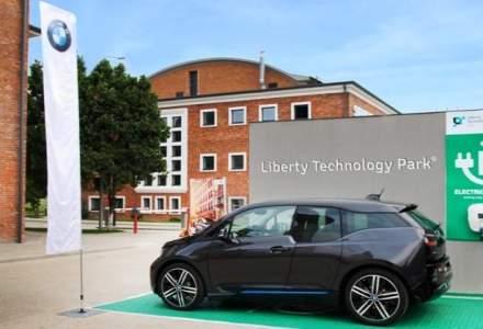 Prima priza pentru masini electrice din Cluj a fost deschisa in Liberty Technology Park