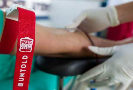 ",,Pay with blood"", campania Untold a strans aproape 1.000 de donatori"