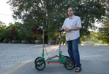 Povestea romanului care va face uitata bicicleta: ce este CARPII, inventia care va revolutiona transportul urban