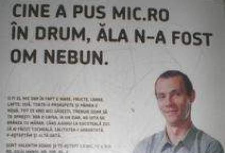 Cum isi promoveaza Patriciu magazinele de cartier: Cine a pus Mic.Ro in drum, ala n-a fost om nebun