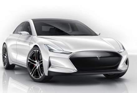Chinezii au copiat sedanul electric Tesla Model S. Masina le-a iesit chiar mai bine