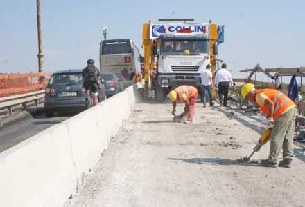 Ministrul Transporturilor a vizitat santierul de reabilitare a podului peste Dunare, Giurgiu-Ruse