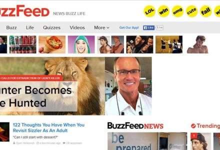 NBCUniversal vrea sa investeasca 250 de milioane de dolari in site-ul BuzzFeed