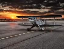 Avion utilitar, prabusit in...