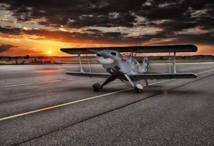 Avion utilitar, prabusit in Braila: Pilotul a murit (UPDATE)