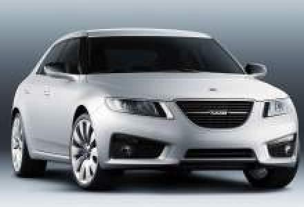 Noul Saab 9-5 Sedan este disponibil in Romania