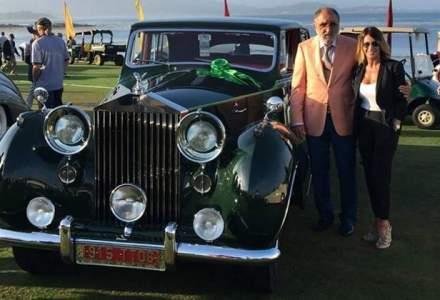Ion Tiriac a castigat doua premii internationale la Pebble Beach cu un Rolls-Royce Phantom din Tiriac Collection