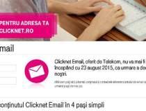 Clicknet eMail, oferit de...