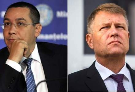 Intalnire Iohannis-Ponta, la Cotroceni. Cei doi au discutat despre Codul Fiscal