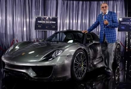 Tiriac a dat 860.000 euro pe un Porsche hibrid