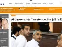 Trei jurnalisti Al Jazeera,...