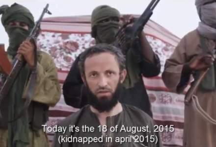 Gruparea al-Mourabitoune a publicat o inregistare video cu ostaticul roman Iulian Ghergut