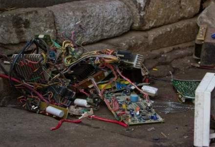 Romania este printre ultimele tari din Europa la reciclarea deseurilor electronice