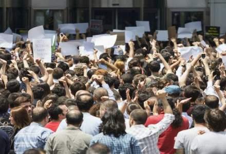 Protestul de la Mina Baita s-a incheiat dupa opt zile, minerii reluand activitatea normala