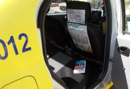 Litera pune pe roate prima biblioteca mobila, in taxiurile Meridian