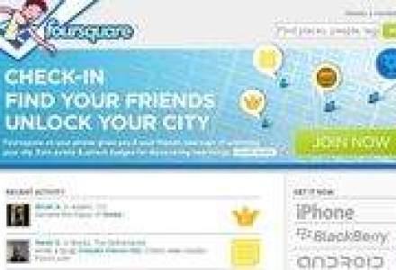 Reteaua sociala Foursquare vrea sa se extinda