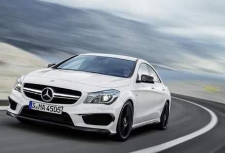 Mercedes-Benz a devansat Audi, este al doilea mare producator de masini premium