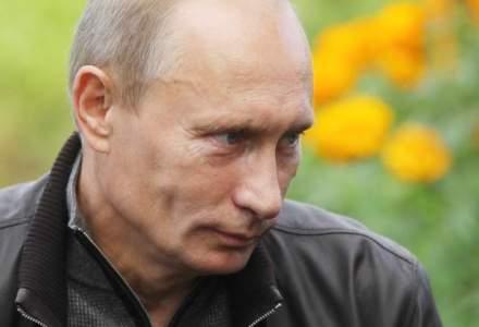 Vladimir Putin s-a intalnit cu Silvio Berlusconi in Peninsula Crimeea