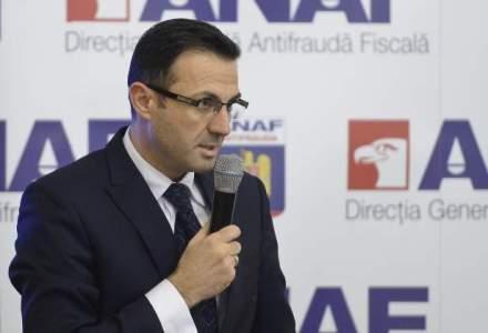 Vicepresedintele ANAF Romeo Nicolae, cercetat de DNA, a fost eliberat din functie, in urma demisiei