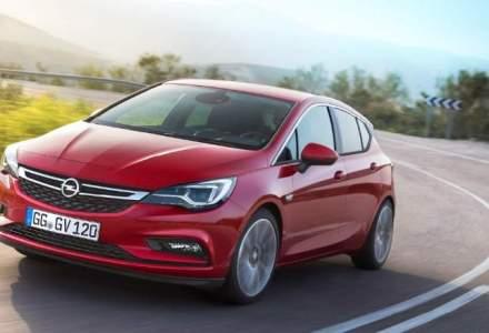 Noul Opel Astra costa in Romania de la 15.600 euro cu TVA