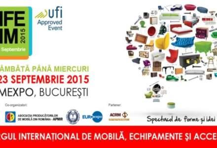(P) Pe 19 septembrie incepe cel mai mare eveniment de mobila din Romania - Targul international de mobila, echipamente si accesorii BIFE-SIM