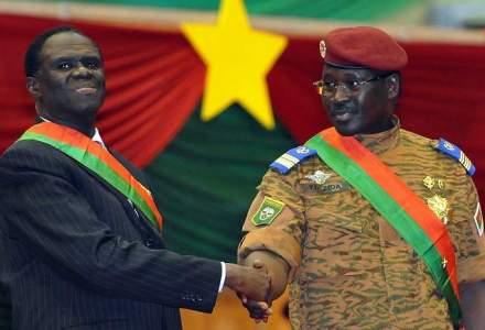 Presedintele, premierul si cativa ministri din Burkina Faso au fost arestati de soldati