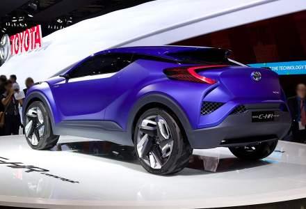 Toyota va concura Nissan Qashqai in Europa cu un nou SUV bazat pe conceptul C-HR