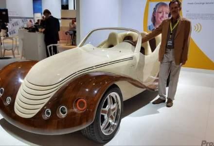 Prima masina decapotabila fabricata in Romania se numeste Julia