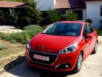 Test cu Peugeot 208 facelift,...