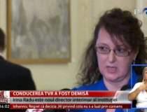 Irina Radu este sef interimar...