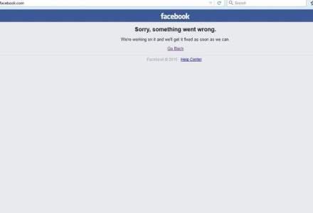Reteaua de socializare Facebook a picat! Din nou!
