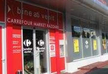 Carrefour, vanzari in scadere cu 5,8% pe piata locala in T2