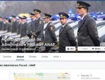 ANAF si Facebook, la...