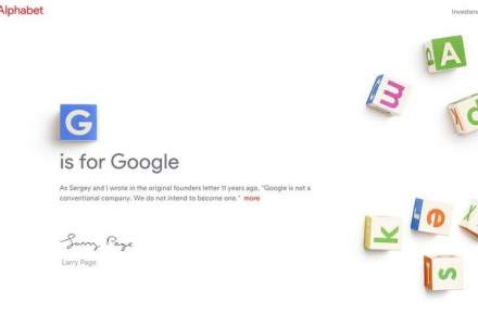 Google cumpara tot alfabetul (.Com). Ce va face cu el?