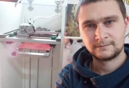 Eugen Gutiu, tanarul care printeaza 3D fapte bune