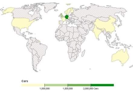 Distributia pe tari a masinilor VW cu probleme. Germania a fost lovita cel mai tare