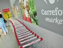 Vanzarile Carrefour in...