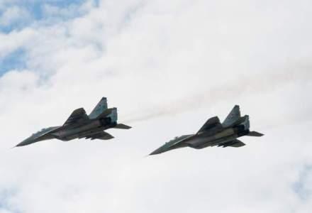 Avioane militare ruse si israeliene au fost aproape de o confruntare, in sudul Siriei