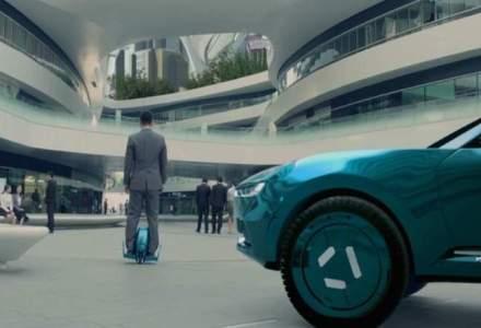 Viitorul in industria auto in viziunea chinezilor sunt masinile autonome cu drone