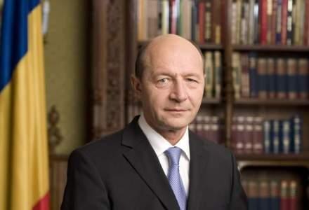 Traian Basescu, presedintele partidului Miscarea Populara