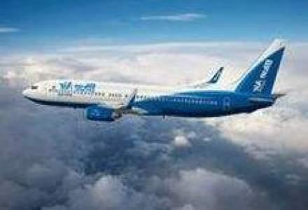 Blue Air anuleaza trei curse interne spre Bucuresti, din lipsa de cerere