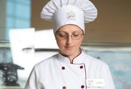 Ea este Maestrul Ciocolatier prin mainile careia trec toate produsele Heidi inainte de a iesi pe piata