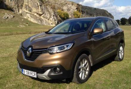 Test Drive Wall-Street: Renault Kadjar, un crossover de familie cu o garda la sol de 19 cm