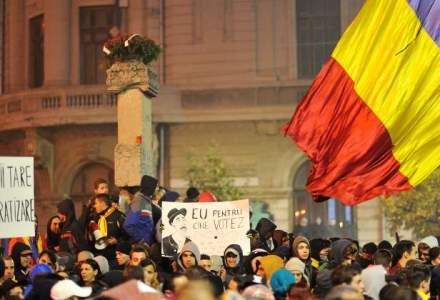Studiu SNSPA: 70% dintre protestatarii din Piata Universitatii nu pot numi un prim-ministru
