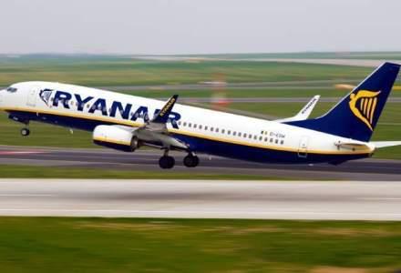 Ryanair pune in vanzare bilete la 10 euro catre 12 destinatii