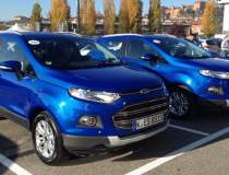 Test cu Ford EcoSport in...