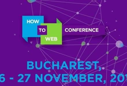 (P) Comunitatea profesionistilor in tehnologie se intalneste pe 26 & 27 noiembrie la How to Web Conference 2015